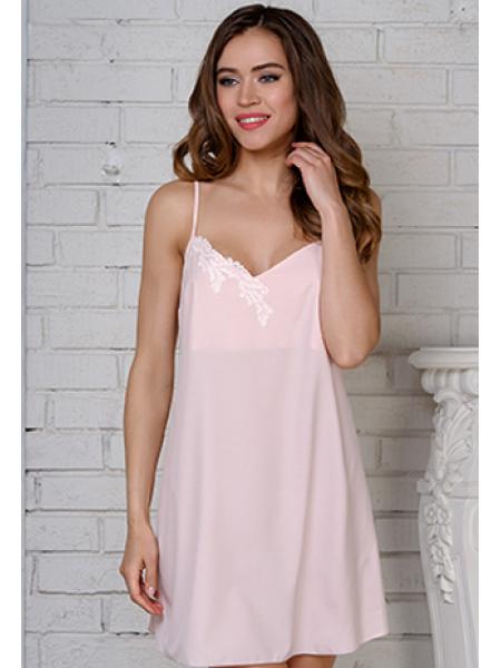 Сорочка ночная Acappella Carezza 0231 Розовый